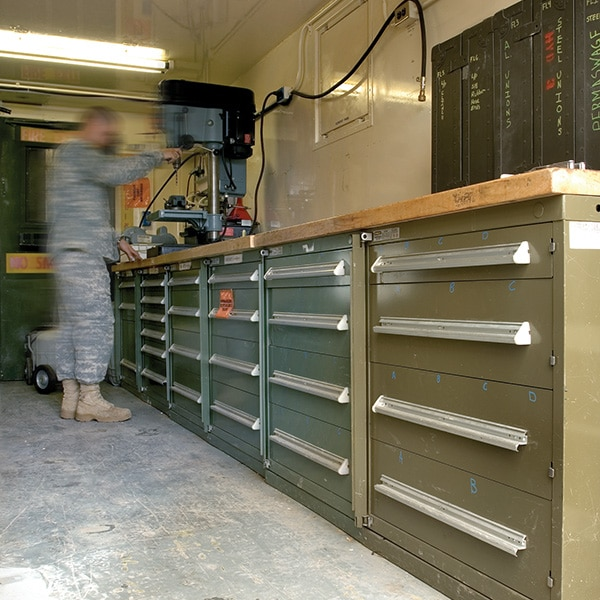 588th Mobile Storage Cabinets