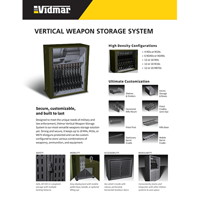 Vertical Weapons Storage